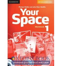 Your Space 1 Workbook with Audio CD