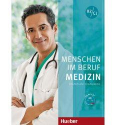 Menschen im Beruf - Medizin (B2-C1) Kursbuch mit MP3-CD