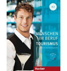 Menschen im Beruf - Tourismus A2 Kursbuch mit Audio-CD