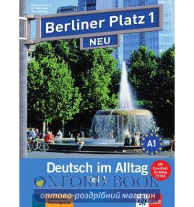 Berliner Platz 1 Lehr-und Arbeitsbuch Teil 1 + CD  NEU
