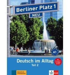 Berliner Platz 1 Lehr-und Arbeitsbuch Teil 2 + CD  NEU
