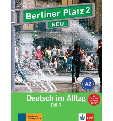 Berliner Platz 2 Lehr-und Arbeitsbuch Teil 1 + CD  NEU