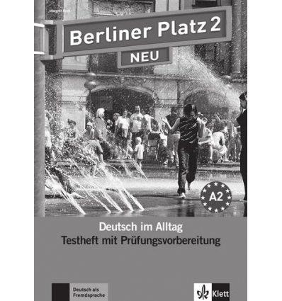 Berliner Platz 2 NEU Testheft mit Prufungsvorbereitung+CD