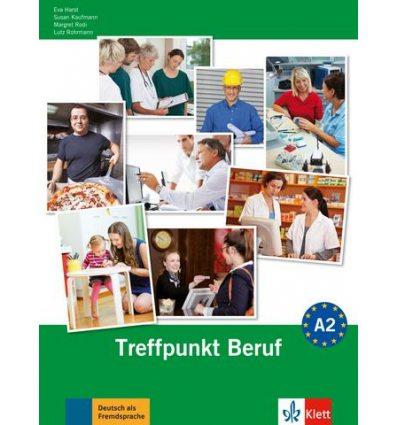 Berliner Platz 2 Treffpunkt Beruf (A2) + CD