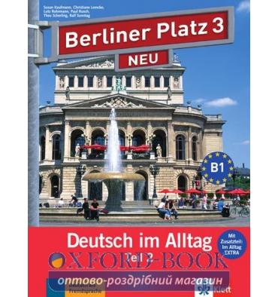Berliner Platz 3 Lehr-und Arbeitsbuch Teil 2 + CD  NEU