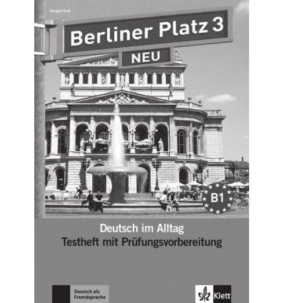 Berliner Platz 3 NEU Testheft mit Prufungsvorbereitung + CD