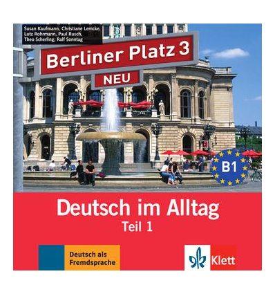 Berliner Platz 3 NEU CD zum Lehrbuch Teil 1