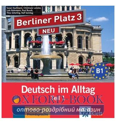 Berliner Platz 3 NEU CD zum Lehrbuch Teil 2