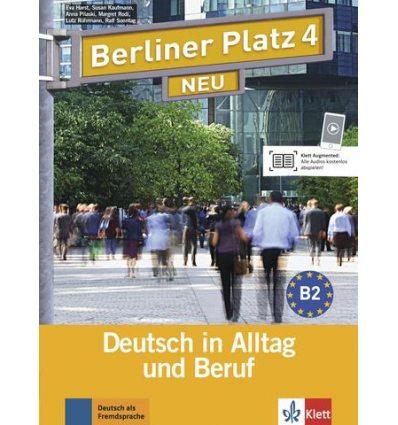 Berliner Platz 4 Lehr-und Arbeitsbuch + 2 CDs NEU