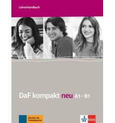 DaF kompakt neu Lehrerhandbuch A1-B1