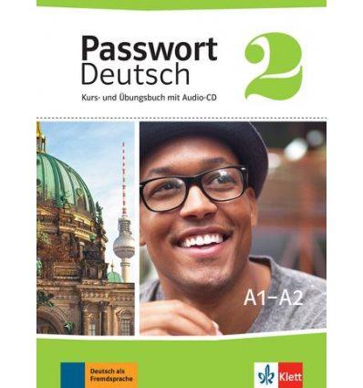 Passwort Deutsch 2 Kurs und Ubungsbuch + CD