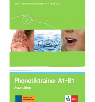 Aussichten Phonetiktrainer A1-B1+CDs