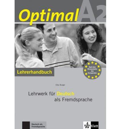 Optimal A2 Lehrerhandbuch+Lehrer-CD-ROM