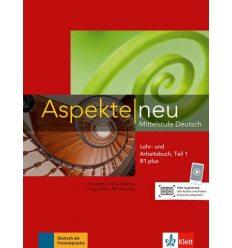 Aspekte 1 Neu B1+ Lehr-und Arbeitsbuch Teil 1 + CD