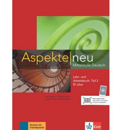 Aspekte 1 Neu B1+ Lehr-und Arbeitsbuch Teil 2 + CD