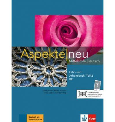 Aspekte 2 Neu B2 Lehr-und Arbeitsbuch Teil 2 + CD