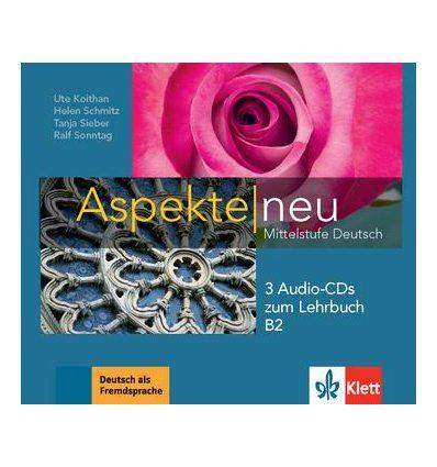 Aspekte 2 (B2) 3 CDs zum Lehrbuch