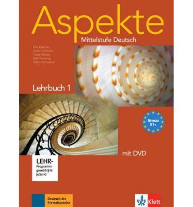 Aspekte 1 (B1+) Lehrbuch + DVD