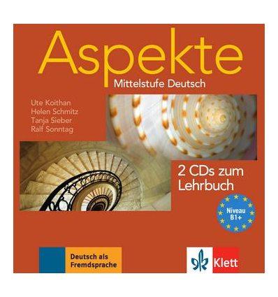 Aspekte 1 (B1+) 2 CDs zum Lehrbuch