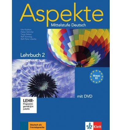 Aspekte 2 (B2) Lehrbuch + DVD