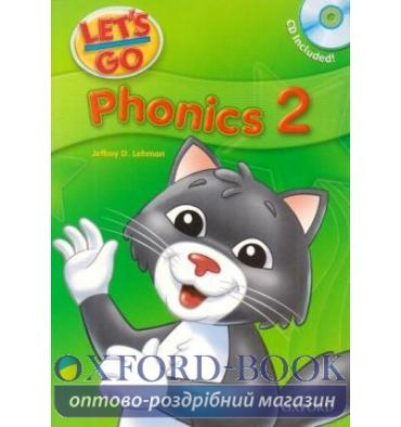 Let's Go 2 Phonics Book + CD