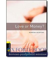 Oxford Bookworms Library 3rd Edition 1 Love or Money?