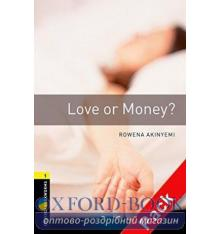 Oxford Bookworms Library 3rd Edition 1 Love or Money? + Audio CD