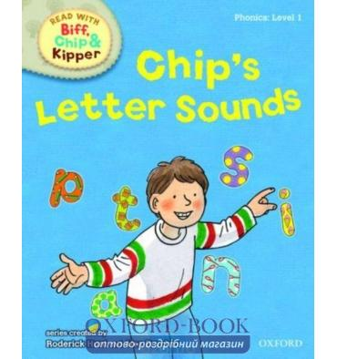 Oxford Reading Tree Read with Biff, Chip and Kipper 1 Chip's Letter Sounds