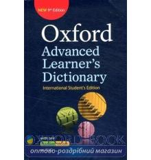 Oxford Advanced Learner's Dictionary 9th Edition International Student's Edition Pupil's Book + DVD-ROM