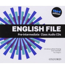 English File 3rd Edition Pre-Intermediate: Class Audio CDs (5)