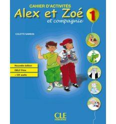 Alex et Zoe Nouvelle edition 1 Cahier + DELF Prim CD audio