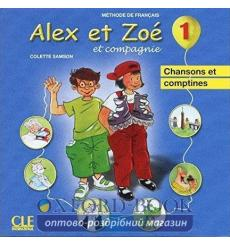 Alex et Zoe Nouvelle edition 1 CD audio individuel