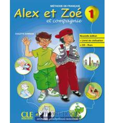 Alex et Zoe Nouvelle edition 1 Livre + Livret de civilisation + CD-ROM