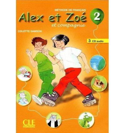 Alex et Zoe Nouvelle edition 2 CD audio