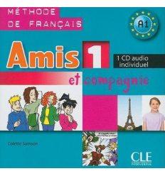 Amis et compagnie 1 CD audio individuel