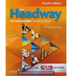 New Headway Pre-Intermediate: Student's Book with iTutor DVD