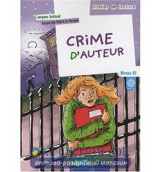 Atelier de lecture A2 Crime d'auteur + CD audio