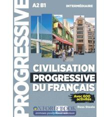 Civilisation Progressive du Francais 2e edition Intermediaire Livre + CD audio