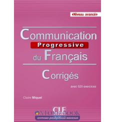 Communication Progressive du Francais 2e edition Avance Corriges
