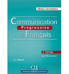 Communication Progressive du Francais 2e edition Intermediaire Livre + CD audio