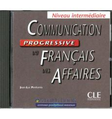 Communication Progressive du Francais des Affaires Intermediaire CD audio