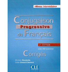 Conjugaison Progressive du Francais 2e edition Intermediaire Corriges