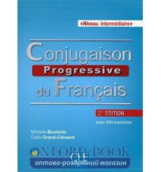 Conjugaison Progressive du Francais 2e edition Intermediaire Livre + CD audio