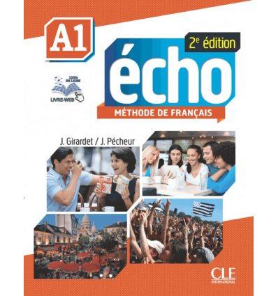 Echo 2e Edition A1 Livre + DVD-ROM + Livre-web