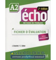 Echo 2e Edition A2 Fichier d'Evaluation