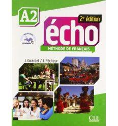 Echo 2e Edition A2 Livre + DVD-ROM + Livre-web