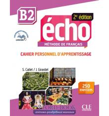 Echo 2e Edition B2 Cahier + CD audio + Livre-web