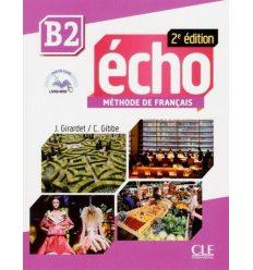 Echo 2e Edition B2 Livre + CD audio + Livre-web