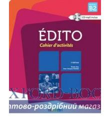 Edito 3e Edition B2 Cahier + CD audio