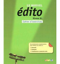 Edito B1 Nouvel Edition Cahier